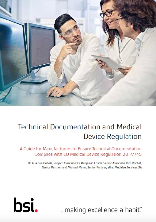technical medical documentation regulation