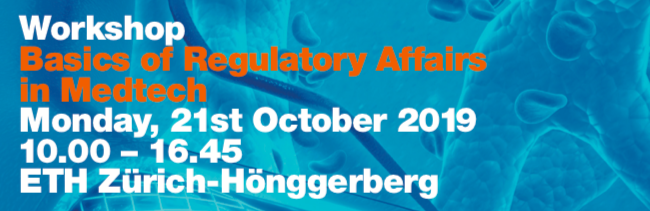 workshop regulatory affairs zurich