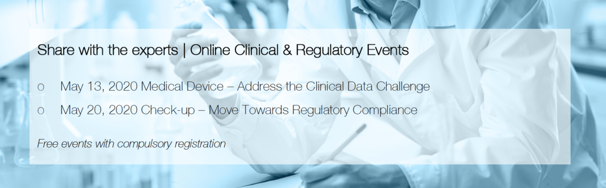 Online Clinical and Regulatory Event