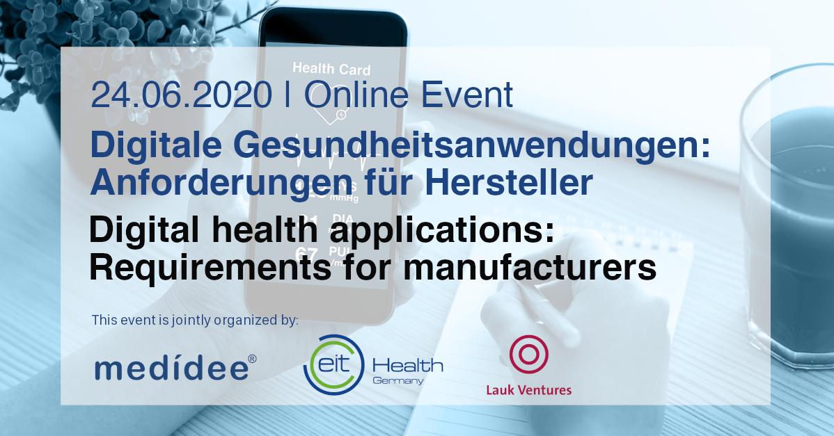 digital health application event