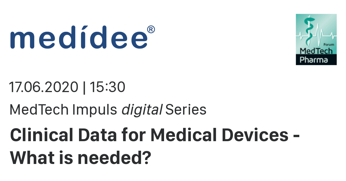 clinical data for medtech germany