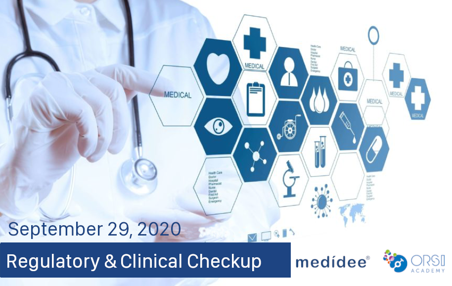 Medidee Regulatory and Clinical Affairs Checkup with ORSI