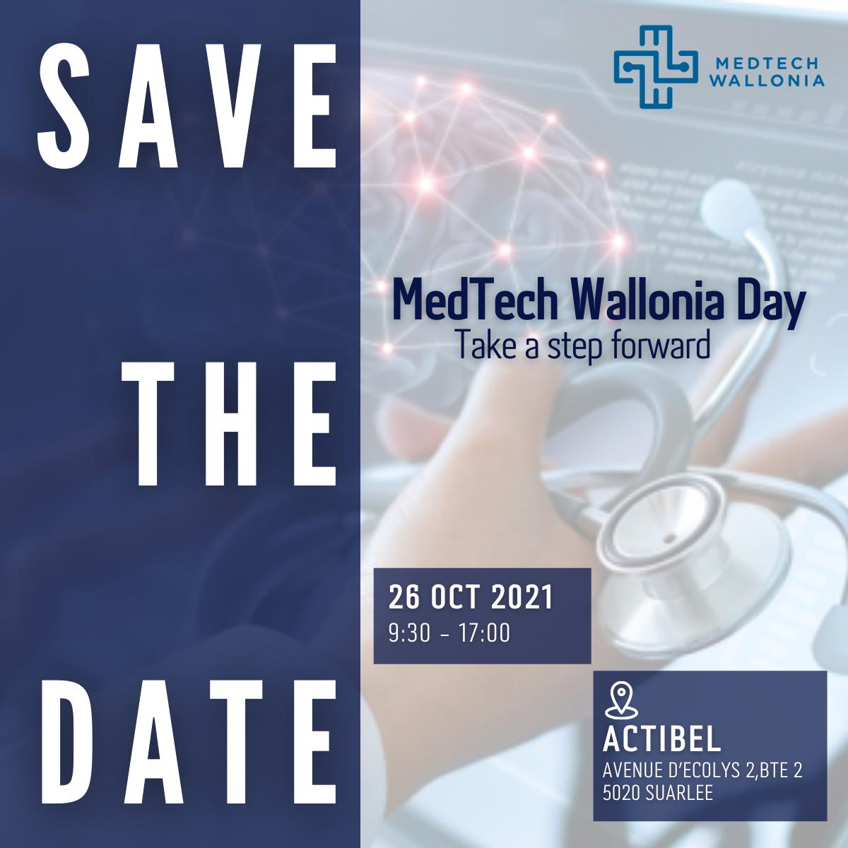 MedTech Wallonia Day 26 OCT 2021